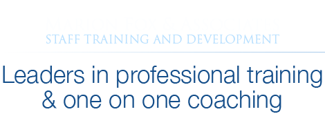 Marion Fox Staff Training and Development